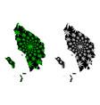 north sumatra subdivisions indonesia provinces vector image vector image