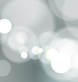 Abstract Bokeh Light on Gray Background vector image