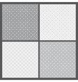 gray patterns vector image
