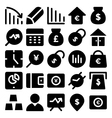 Business Icons 8 vector image vector image
