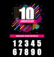 creative of anniversary logo