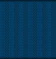knit blue pattern vector image