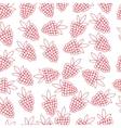 pattern of berries vector image vector image