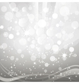 Abstract background with shiny bokeh vector image