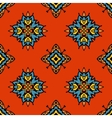 abstract tribal seamless tiled design vector image vector image