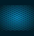 blue embossed pattern plastic grid vector image vector image
