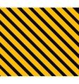 Danger background Orange and black stripes vector image vector image