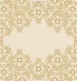 gold ornamental background vector image