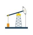 Oil pump icon Oil Industry design graphic vector image