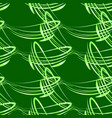 pattern from light green lines for vector image vector image