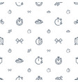 race icons pattern seamless white background vector image vector image