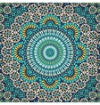Seamless pattern in mosaic ethnic style vector image vector image