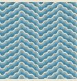 Stylized white waves on blue background seamless
