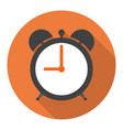 time alarm in the flat vector image vector image
