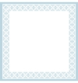 Card with ornament vector image vector image
