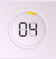 clock and watch vector image vector image