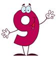funny cartoon numbers-9