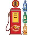 Gas Station Icon Set