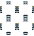 hotel pattern flat vector image vector image