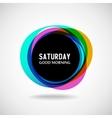 Saturday vector image
