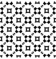 seamless pattern with rounded crosses squares vector image vector image