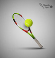 tennis symbols as design elements tennis balls vector image