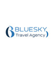 travel agency icon for business card design vector image
