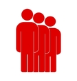 People or social sign icon vector image