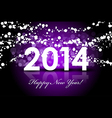 2014 - New Year background vector image