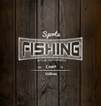 Fishing badges logos and labels for any use vector image vector image