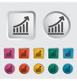 icon schedule vector image