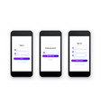 Mobile ui kit pack sign up form sign in page