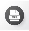 mp3 icon symbol premium quality isolated organize vector image