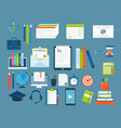 online education staff training book store vector image vector image