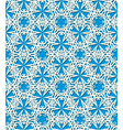 Seamless white decorative pattern vector image vector image