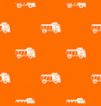 toy truck pattern seamless vector image vector image