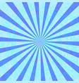 grunge blue starburst effect background vector image
