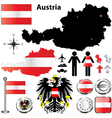 Austria map vector | Price: 1 Credit (USD $1)
