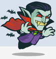 Dracula vector image vector image