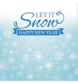 E-card for Happy New Year and Merry Christmas vector image vector image