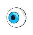 Eyes icon cartoon style vector image