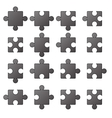 Jigsaw Icons vector image