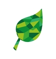 leaf plant abstract green icon graphic vector image