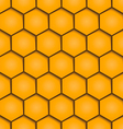 abstract honeycombs background seamless geometric vector image vector image