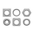 eyelets and grommets vector image