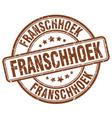 franschhoek vector image vector image