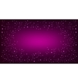 Purple space background vector image vector image