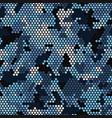 Seamless urban camouflage pattern pixel