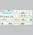 set of human resources and business organization vector image