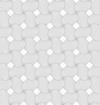 Slim gray hatched pedals in turn vector image vector image